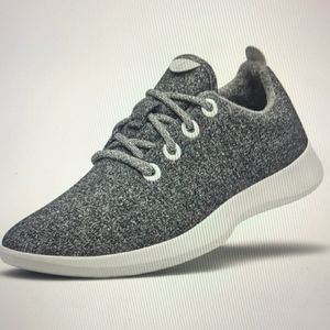 Allbirds The Wool Runner Mens Gray Tie Up Sneaker